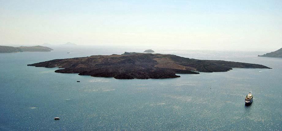 Kammeni Volcano Santorini