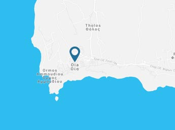 Oia Santorini Map